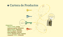 Cartera de Productos