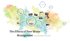 The Effects of Poor Waste Management