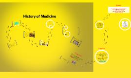 Copy of Copy of History of Medicine