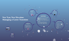 New Year, New Direction: Managing a Career Transition