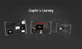 Chapter 6: Learning