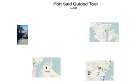 Port Said Guided Tour