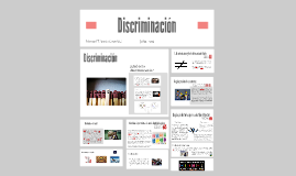 Copy of Discriminación