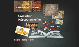 CIVILISATION MESOPOTAMIENNE