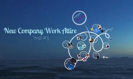 New Company Work Attire
