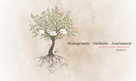 Management - Methods - Assessment