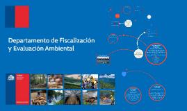 Departamento Fiscalización y Evaluación Ambiental