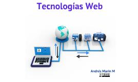Tecnologías Web