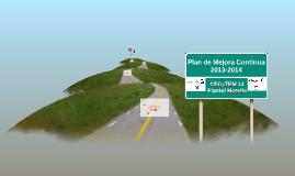 Copy of Plan de Mejora Continua