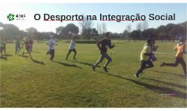 O Desporto na Integração