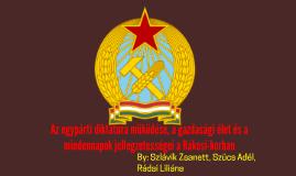 Copy of A Rákosi-korszak