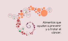 Alimentos que ayudan a prevenir y a tratar el cáncer.