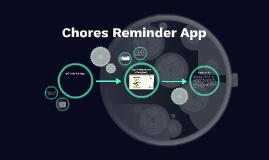 Chores Reminder App