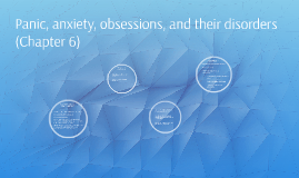 Panic, anxiety, obsessions, and their disorders