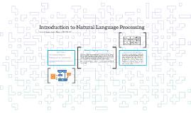 Introdução a Processamento de Língua Natural