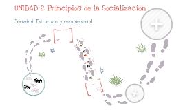 Copy of UNIDAD 2. PRINCIPIOS DE LA SOCIALIZACIÓN. Tema 2. Sociedad, estructura y cambio social.