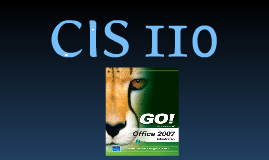 CIS 110