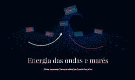 Energia das ondas e marés