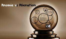 Anomie vs Alienation