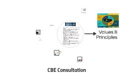 CBE Consultation