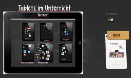 Copy of Tablets im Unterricht - Übersicht