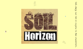Copy of SOIL HORIZONS