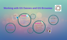 Working with GS Daisies and Brownies