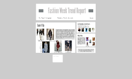 Copy of Fashion Week Trend Report