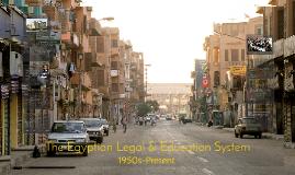 The Egyptian Legal & Education