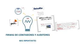 Copy of LAS PRINCIPALES FIRMAS DE CONTADORES Y AUDITORES