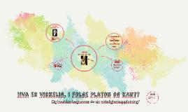 Hva er virkelig, i følge Platon og KAnt?