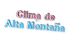 Copy of Clima de alta montaña
