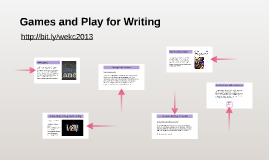 Games and Play for Writing