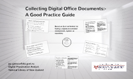 Copy of Collecting Office Documents - Good practice