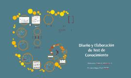 Diseño Y Elaboración de Test de Conocimiento
