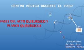 Copy of FASES DEL ACTO QUIRURGICO Y PLANOS QUIRURGICOS