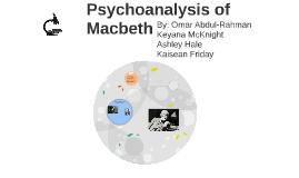 Psychological Analysis of Macbeth