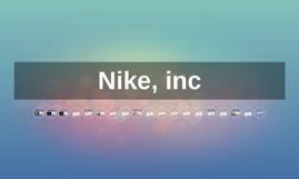 Nike, inc