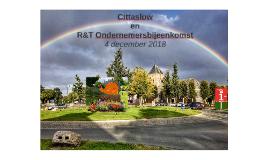 Cittaslow Ondernemers bkmst 4 dec 2018