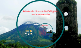 Copy of Volcano alert levels in the Philippines and other countries