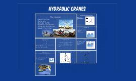 building a model Hydraulic Knuckle crane