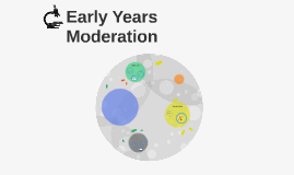 Early Years Moderation