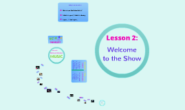 Year 2  Lesson 2: Welcome to the Show!
