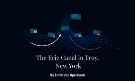 The Erie Canal in Troy New York