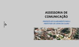 ASSESSORIA DE COMUNICAÇÃO: