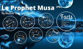 Le Prophet Musa