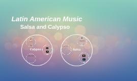 Copy of Latin American Music