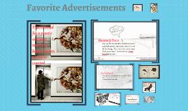 Favorite Advertisements