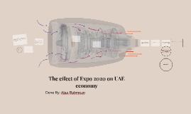 The effect of Expo 2020 on UAE economy