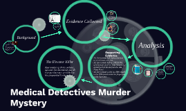 Medical Detectives Murder Mystery